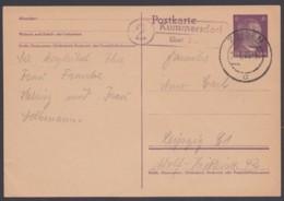 "P 298/9 I, Bedarf, Landpost ""Kummersdorf über Zossen"", 2.1.45 - Germany"