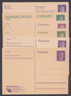 """""""Hitler"""", 6 Versch. Propagandakarten, Ungebraucht - Deutschland"""