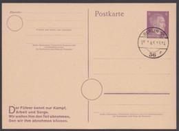 "P 314 II B, Blanko ""Berlin"", 15.1.45 - Deutschland"