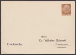"""PP 122 B 2/03 """"Dr.Schenkl, Theresienfeld"""", Ungebraucht - Deutschland"""