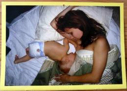 FEMME BEBE AU SEIN ALLAITEMENT USA PHOTO KYLE COOPET MOTHER BREASTFEEDING MATERNITE SEINS NUS TETEE - Ethnics