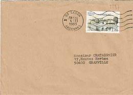 TP N° 2287 Seul Sur Enveloppe De Sedan - 1961-....