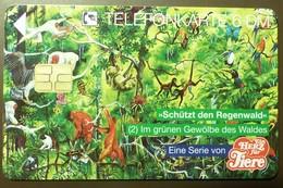 O 1415  07.94    6 DM  Mint Voll    Ein Herz Für Tiere  #TK28 - Allemagne