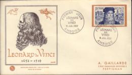 Ref. 438823 * NEW *  - FRANCE . 1952. 5th CENTENARY OF THE BIRTH OF LEONARDO DA VINCI. 5 CENTENARIO DEL NACIMIENTO DE LE - Unused Stamps