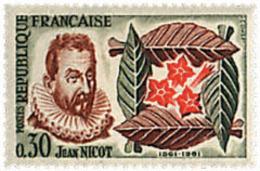 Ref. 89280 * NEW *  - FRANCE . 1961. 4th CENTENARY OF TOBACCO INTRODUCTION. 4 CENTENARIO DE LA INTODUCCION DEL TABACO - Ungebraucht
