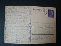 Reichsarbeitsdienst Postkarte, RAD Lager 1/111 Mainz Gonsenheim, Gelaufen 6.5.1942 ! - Briefe U. Dokumente