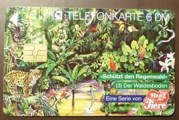 O 1416  07.94    6 DM  Mint Voll    Ein Herz Für Tiere  #TK30 - Allemagne