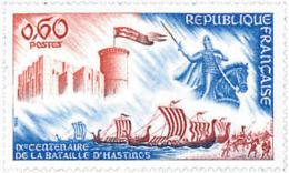 Ref. 88251 * NEW *  - FRANCE . 1966. 9th CENTENARY OF HASTINGS BATTLE. 9 CENTENARIO DE LA BATALLA DE HASTINGS - Francia
