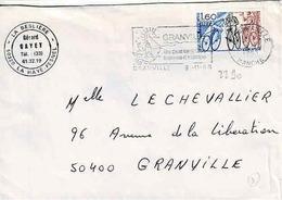 TP N° 2290 Seul Sur Enveloppe De Granville - 1961-....