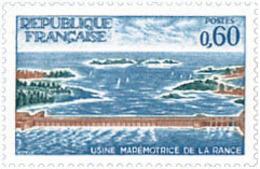 Ref. 122100 * NEW *  - FRANCE . 1966. RANCE SEA-POWER STATION. FABRICA MAREMOTRIZ DE RANCE - Francia