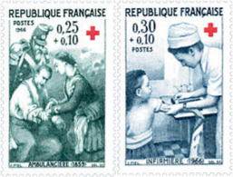 Ref. 122102 * NEW *  - FRANCE . 1966. RED CROSS WELFARE FUND. PRO CRUZ ROJA - Francia