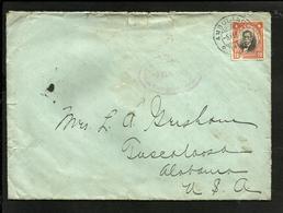 CHILE AMBULANCIA 14 COVER 1919, TO USA (TUSCALOOSA, ALABAMA) - Chile