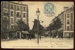Le Parc Saint-Maur - Place Et Avenue De La Mairie - Saint Maur Des Fosses