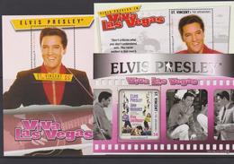 SAINT VINCENT ET GRENADINES, Elvis Presley, Musique Et Cinema - Elvis Presley