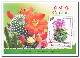 Noord Korea 2011, Postfris MNH, Cacti, Flowers, Insects, Butterflies ( Booklet ) - Korea (Nord-)