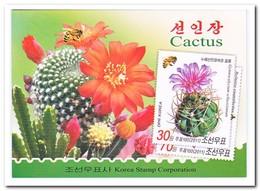 Noord Korea 2011, Postfris MNH, Cacti, Flowers, Insects, Butterflies ( Booklet ) - Korea (Noord)