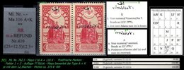 EARLY OTTOMAN SPECIALIZED FOR SPECIALIST, SEE...Mi. Nr. (762 I) - Mayo 116 A + K  - Plattenfehler -RR- - 1920-21 Anatolie