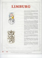 België O.B.C.  Herdenkingskaart  Luweblad Met Guddruk  Limburg  2338  266/500 - Cartes Souvenir