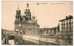 Pétrograd, L'Eglise De La Résurrection (pk55973) - Russie