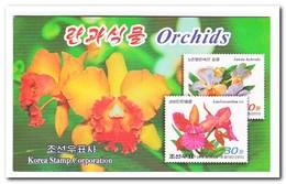 Noord Korea 2011, Postfris MNH, Orchids, Flowers ( Booklet ) - Korea (Noord)