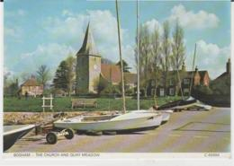 Postcard - Bosham - The Church And Quay Meadow - Unused Very Good - Cartes Postales