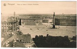 Pétrograd, Place Du Palais Et Colonne Aléxandre (pk55974) - Russie