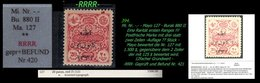 EARLY OTTOMAN SPECIALIZED FOR SPECIALIST, SEE...Mi. Nr. -.-  - Mayo 127 - Burak 880 II  -RRRR- (25 Stück ???) - 1920-21 Anatolie