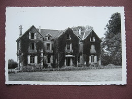 CPA PHOTO 52 HAUTE AMANCE Ex ROSOY SUR AMANCE Colonie SNCF Chateau Entrée Principale Canton CHALINDREY 1950 - Autres Communes