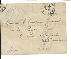 """Lettre Avec Cachet """" Camp De P.G. De Blaye / Tarn"""" ( Sans Correspondance) - France"""