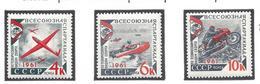 Russie - URSS - YT N° 2431 à 2433 - Neuf Avec Charnière - Thématique Sport - 1961 - Nuovi