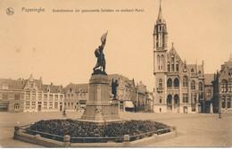 CPA - Belgique - Poperinghe - Gedenkteeken Der Gesneuvelde Soldaten - Poperinge