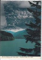 MT. ST. HELENS & YALE LAKE, WA  Volcano, Vulcan Vulkan - Eruption May 1980   Used - Vereinigte Staaten