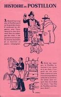 Ancien BUVARD Illustré HISTOIRE Du POSTILLON - H