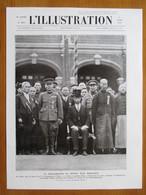(1932)  Proclamation Etat MANDCHOU - Prince Pou Yi Empereur De Chine  - Page Originale Vintage - Publicités