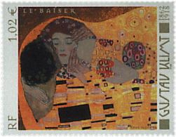 Ref. 86992 * NEW *  - FRANCE . 2002. 140th BIRTH ANNIVERSARY OF GUSTAV KLIMT. 140 ANIVERSARIO DEL NACIMIENTO DE GUSTAV K - Francia