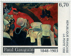 Ref. 53429 * NEW *  - FRANCE . 1998. 150th ANNIVERSARY OF THE BIRTH OF PAINTER PAUL GAUGUIN. 150 ANIVERSARIO DEL NACIMIE - Francia