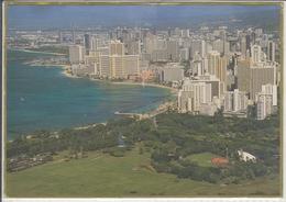 WAIKIKI Hawaii  From Diamond Head, Panorama  Used - Honolulu