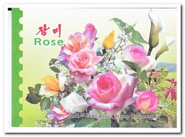 Noord Korea 2012, Postfris MNH, Flowers, Roses ( Booklet ) - Korea (Noord)