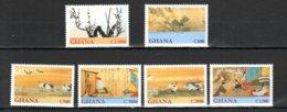Ghana 2001 Japanese Art MNH -(a-7) - Kunst