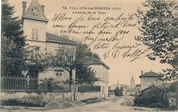 I101 - VILLARS-LES-DOMBES - Ain - Avenue De La Tour - Villars-les-Dombes