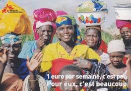 AFRIQUE--Médecins Sans Frontières--voir 2 Scans - Santé
