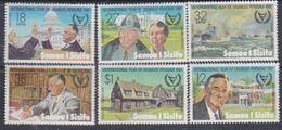 Samoa N° 484 / 89 XX Année Internationale Des Personnes Handicapées, Les 6 Valeurs Sans Charnière, TB - Samoa
