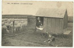 Belle Cpa  1667.   EN BEAUCE.   La Cabane Du Berger - Postkaarten