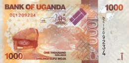 Uganda 1.000 Shillings, P-49e (2017) - UNC - Uganda