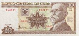 Cuba 10 Pesos, P-117g (2004) - UNC - Scarce Date - Kuba