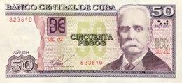 Cuba 50 Pesos, P-123i (2014) - UNC - Cuba