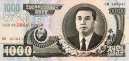 North Korea 1.000 Won, P-56 (2007) - UNC - 95th Birthday Kim Il Sung - Korea, North