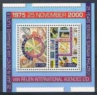 SURINAME, 2000 IPA Agencies 2v + S/s MNH - Surinam