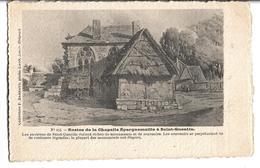 CPA  Parchemin  De  SAINT-QUENTIN  (02)  -  Restes  De  La  Chapelle  Epargnemaille  à  Saint-Quentin  //  TBE - Saint Quentin