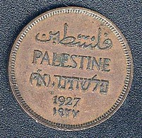 Palästina, 1 Mil 1927 - Coins